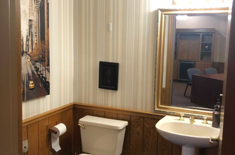 Suite 302 bathroom